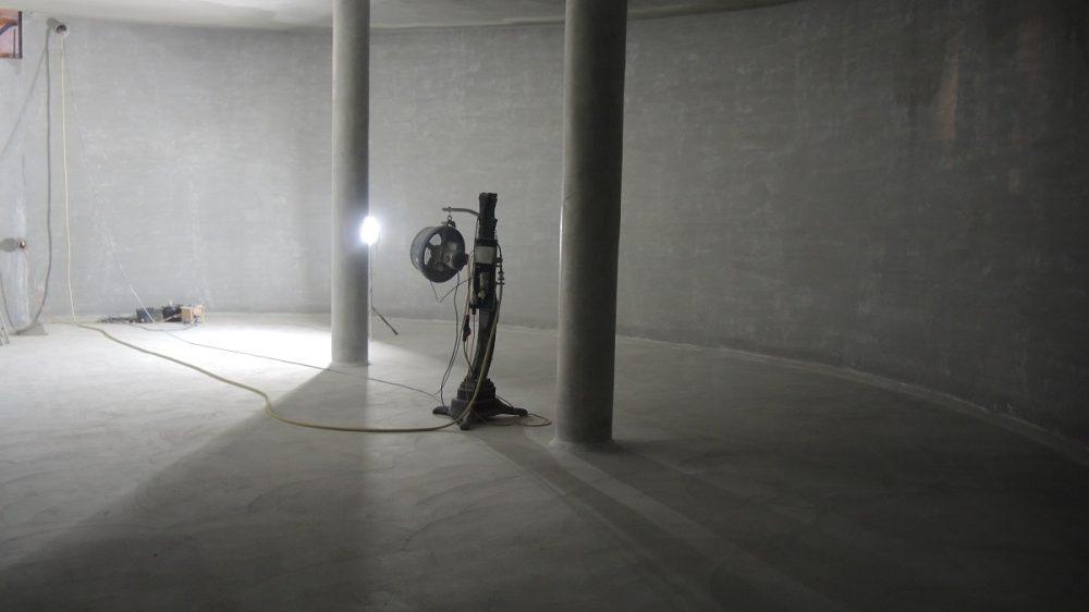 <p>Instandgesetzte Wasserkammer 1</p>