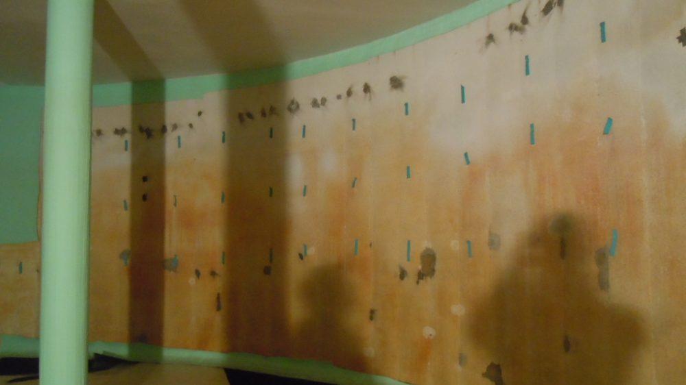 <p>Wasserkammerflächen vor den Sanierungsarbeiten</p>