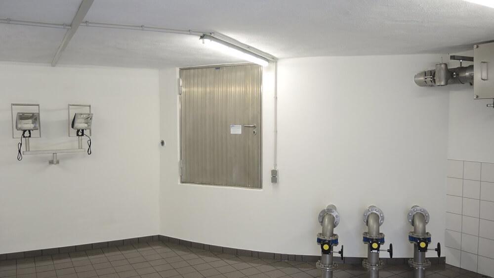<p>sanierte Vorkammer</p>
