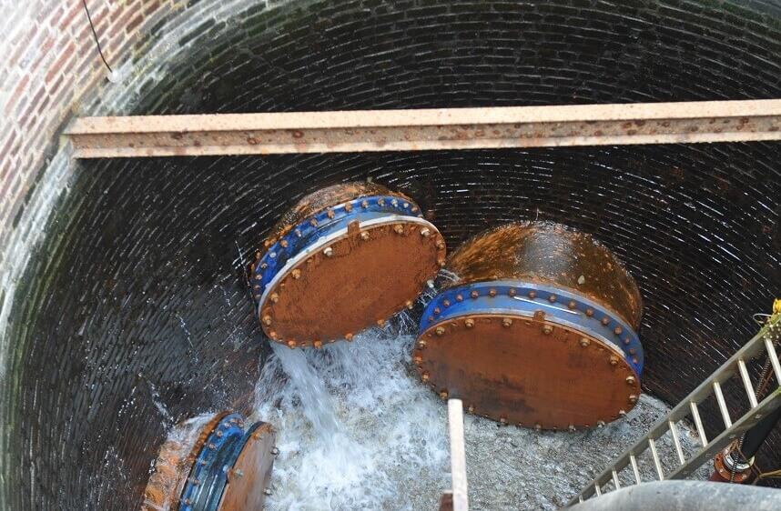 <p>Wassereinbrüche Brunnenwand</p>