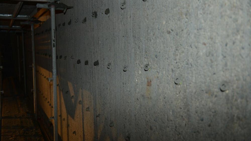 <p>Einbau von Verdübelung Wand/Stahlfaser-Spritzbeton zur Erhöhung</p>